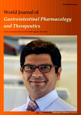 World Journal of Gastrointestinal Pharmacology and Therapeutics2018年第03期