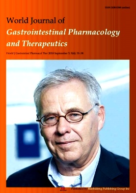 World Journal of Gastrointestinal Pharmacology and Therapeutics2018年第04期