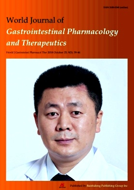 World Journal of Gastrointestinal Pharmacology and Therapeutics2018年第05期