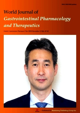 World Journal of Gastrointestinal Pharmacology and Therapeutics2018年第06期