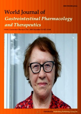 World Journal of Gastrointestinal Pharmacology and Therapeutics2018年第07期