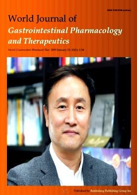 World Journal of Gastrointestinal Pharmacology and Therapeutics2019年第01期