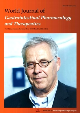 World Journal of Gastrointestinal Pharmacology and Therapeutics2019年第02期