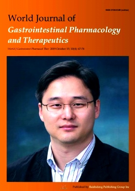 World Journal of Gastrointestinal Pharmacology and Therapeutics2019年第04期