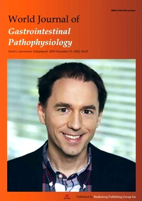 World Journal of Gastrointestinal Pathophysiology