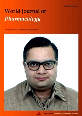 World Journal of Pharmacology杂志