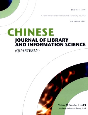 《Chinese Journal of Library and Information Science》2013年01期