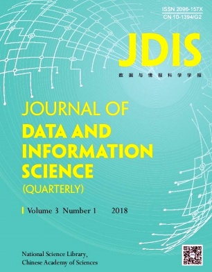 Journal of Data and Information Science2018年第01期