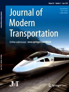 Journal of Modern Transportation2018年第02期