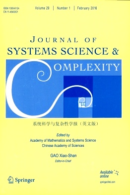 Journal of Systems Science & Complexity杂志