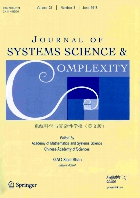 Journal of Systems Science & Complexity2018年第03期