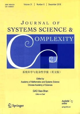 Journal of Systems Science & Complexity2018年第06期