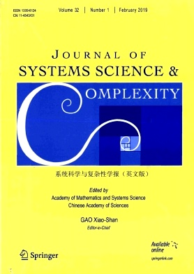 Journal of Systems Science & Complexity2019年第01期