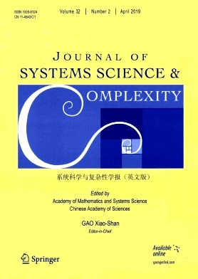 Journal of Systems Science & Complexity2019年第02期