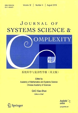 Journal of Systems Science & Complexity2019年第04期