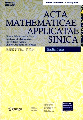 《Acta Mathematicae Applicatae Sinica》2018年01期