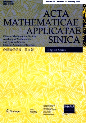 《Acta Mathematicae Applicatae Sinica》2019年01期