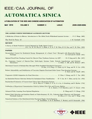 IEEE/CAA Journal of Automatica Sinica2019年第03期