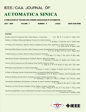 IEEE/CAA Journal of Automatica Sinica杂志