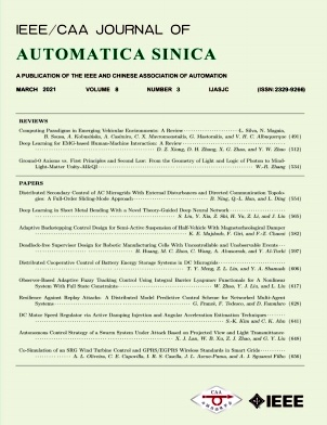 IEEE/CAA Journal of Automatica Sinica