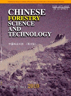 Chinese Forestry Science and Technology2010年第04期