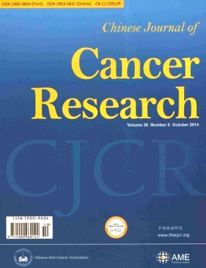 《Chinese Journal of Cancer Research》2014年05期