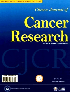 《Chinese Journal of Cancer Research》2016年01期