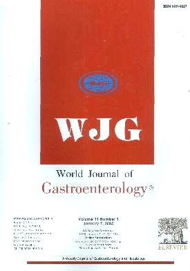 《World Journal of Gastroenterology》2005年01期