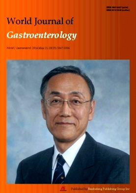 《World Journal of Gastroenterology》2014年19期