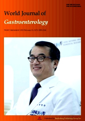 《World Journal of Gastroenterology》2015年07期