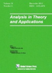 Analysis in Theory and Applications2015年04期