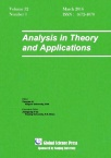 Analysis in Theory and Applications2016年01期