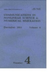 Communications in Nonlinear Science and Numerical Simulation杂志01年04期
