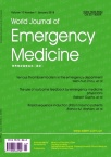 World Journal of Emergency Medicine杂志19年01期