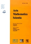 Acta Mathematica Scientia(English Series)2017年04期