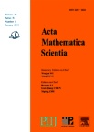 Acta Mathematica Scientia(English Series)2018年01期