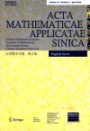 Acta Mathematicae Applicatae Sinica2019年02期