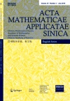 Acta Mathematicae Applicatae Sinica2019年03期