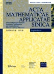 Acta Mathematicae Applicatae Sinica2019年04期