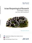 Asian Herpetological Research杂志18年04期