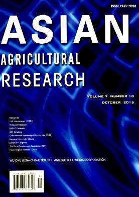 《Asian Agricultural Research》2015年10期