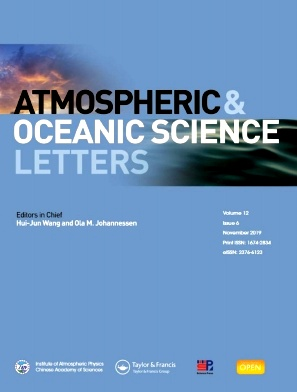 《Atmospheric and Oceanic Science Letters》2019年06期