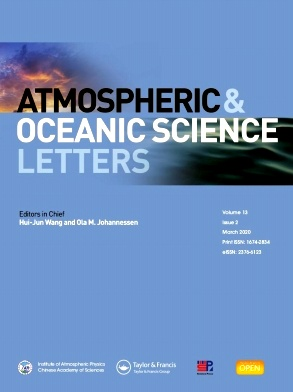 《Atmospheric and Oceanic Science Letters》2020年02期