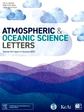 《Atmospheric and Oceanic Science Letters》2021年01期