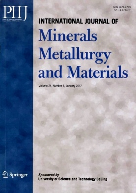 《International Journal of Minerals Metallurgy and Materials》2017年01期
