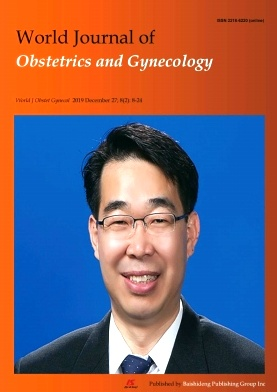 World Journal of Obstetrics and Gynecology杂志