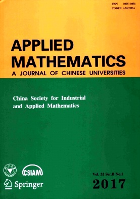 《Applied Mathematics:A Journal of Chinese Universities》2017年01期