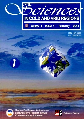 《Sciences in Cold and Arid Regions》2014年01期