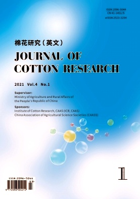 Journal of Cotton Research杂志