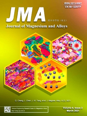 Journal of Magnesium and Alloys杂志